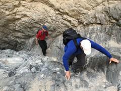 2018-02-15 GOPS Geology Hike (123) (MadeIn1953) Tags: 2018 201802 20180215 greatoutdoorsgo go gops greatoutdoorspalmspringsgops hiking california coachellavalley riversidecounty meccahills paintedcanyon laddercanyon slotcanyon scott ladder