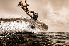 The Perfect Wave (J.Coffman Photography) Tags: kitesurfing aquatech wave underwater housing