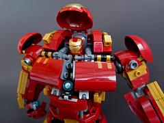 Hulkbuster (Max_Fuxler) Tags: lego hulkbuster legohulkbuster ironman mech battlesuit marvel avengers ageofultron afol moc legomoc legophotography minifigure minifig