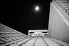 pyramid to the moon (sebboh) Tags: sonya7kolariut zeissrokkorfrankenlens carlzeisscontaxg28mmf28biogon optosigma5mplanoconvexfilter sanfranciscobayarea embarcadero moon stars night noflash cityscape