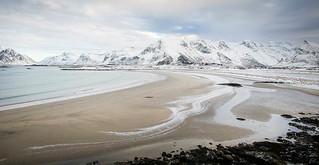 Cold in the Lofoten Islands, Norway