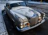 a vintage Mercedes Benz in snowy Vancouver (roaming-the-planet) Tags: mercedesbenz vintagecar snow vancouverwinter pixel2xl 250se