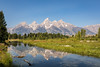 A Reflection of the Tetons (Chuck - Thanks for the 1M Views!!!) Tags: photosbymch landscape tetonrange snakeriver grandtetonnationalpark wyoming usa 2017 canon 5dmkiv reflection glacier trees mountains travel nationalpark nationalparkservice outdoors