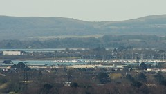 Purbeck from Canford Heath (brightondj - getting the most from a cheap compact) Tags: 2010s 2016 2016march canfordheath canford poole purbeck pooleharbour zoom arne shipstalpoint knowlehill eastcreech hamworthy stonehilldown