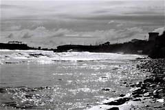 L'almadrava (pepe amestoy) Tags: blackandwhite landscape nikon fm2 nikkor 1850 trix 400 analog film