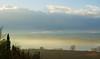 sunrise on the lake (phacelias) Tags: chiusilake chiusimeer lagodichiusi sunrise alba ochtendzon water acqua clouds wolken nuvole umbrie umbria toscana tuscany toscane