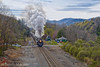 NS 958 at Ridgecrest (Travis Mackey Photography) Tags: ns 958 nw 611 ridgecrest nc sline asheville district steam