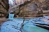 The Glory of LaSalle Canyon (kendoman26) Tags: hdr nikhdrefexpro2 niksoftware nikon nikond7100 tokinaatx1228prodx tokina tokina1228 starvedrockstatepark lasallecanyon frozenfall winter travelillinois enjoyillinois