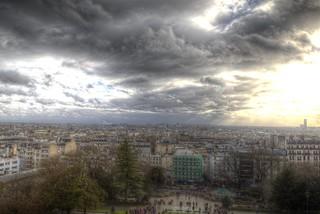 Montmartre en nuages