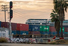 L.A. Grit (Ryan J Gaynor) Tags: losangeles california gritty railroad railfan railway railroading train trains palmtrees sunset sundown photography intermodal