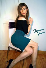 Teal Appeal (jessicajane9) Tags: tg lgbt crossdress xdress tv crossdressing tgurl transvestite cd transgender feminization trans crossdresser tgirl