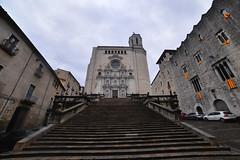 Cathédrale de Gerone (patdebaz) Tags: gerone girona epagne spain paysage cathedrale got game thrones