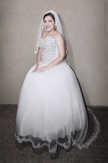 Vestida de novia