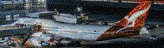 sydney flight 3000 image mosaic (pbo31) Tags: sanfranciscointernational sfo millbrae sanmateocounty mosaic airport gate terminal aviation boeing travel flight boury pbo31 january 2018 winter bayarea california nikon d810 3000 panoramic large stitched panorama 747 qantas sydney plane collage over
