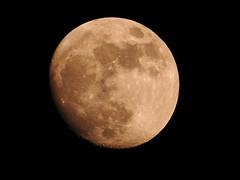 Blue Supermoon, Cwmbran 29 January 2018 (Cold War Warrior) Tags: moon cwmbran lunar supermoon blue