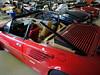 Ferrari Mondial Spider Verdeck-Montage