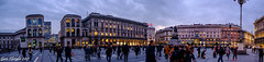 In the heart of Milano (Gian Floridia) Tags: arengario milano piazzaduomo porticimeridionali città city cuore dusk heart imbrunire lights luci