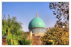 Taschkent UZ - Kaffal-Schaschi-Mausoleum 03 (Daniel Mennerich) Tags: silk road uzbekistan tashkent history architecture hdr