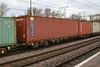 607091 Northampton 080218 (Dan86401) Tags: northampton wcml 4m86 607091 fta freightliner fl inner intermodal modal containerflat wagon freight arbelfauvet cronos triton