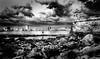 El-Morro-Cuba (mcook1517) Tags: havana cuba harbor seascape landscape clouds monochrome blackandwhite travel noir person vintage historic water rocks