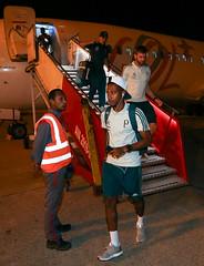 Desembarque em Barranquilla (28/02/2018) (sepalmeiras) Tags: tchetche fabiano aeroportointernacionalernestocortissoz palmeiras sep desembarque