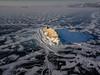 Eight Miles High (Andrew G Robertson) Tags: drone lake baikal siberia dji mavic pro yelinka rock russia winter ice olkhon island