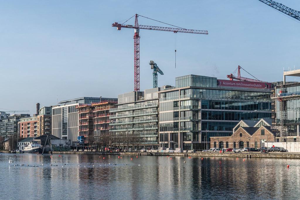 GRAND CANAL DOCK AREA OF DUBLIN [PHOTOGRAPHED 11 JANUARY 2018]-135429