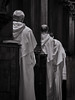 Devotion (Petra Ries Images) Tags: pentax11070mmf28 devotion monks mönche kloster monastery blackandwhite schwarzweis kirche church clergy klerus beten pray chant manualfocus manuallens vintagelens andacht medidation