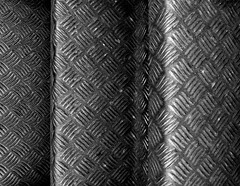 Checkerplate Stairs (only lines) Tags: checkerplate stairs metal texture margate