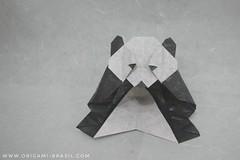 26/365 Panda by Roman Diaz (origami_artist_diego) Tags: origami origamichallenge 365days 365origamichallenge panda bear