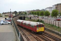 SWR Island Line 483007 (Will Swain) Tags: ryde isle wight 16th october 2017 south coast island swr line 483007 class 483 first group 007 train trains rail railway railways transport travel uk britain vehicle vehicles country england english western