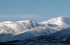 Mountains textures (Fr Paul Hackett) Tags: snow mountain sky drifts