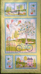 Summer .... Quilted Panels by Patricia (Mr. Happy Face - Peace :)) Tags: quilts blankets art2018 sewing bechthold