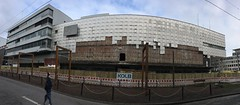 Demolition Tetris (mkorsakov) Tags: dortmund city innenstadt kampstrasse abriss demolition pano panorama leerstand abandoned baustelle constructionsite