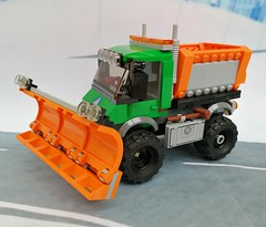 10IMG_20180217_145628 (maxims3) Tags: lego city 60083 snowplough truck снегоуборочная машина traffic обзор review