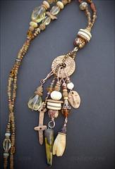 Maggie Zee (Maggie Zee) Tags: amulet talisman shaman goddess bronzeclay titlefx