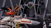 X-Wing Explosion (OrangeALEX99) Tags: r2d2 c3po lego starwars otlug disney minifig minifigs moc explosion xwing tiefighter fighter tie stormtrooper hangar darthvader empire rebels rebellion