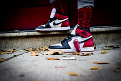 couldn't get the bred toes but got my black toes (PJC Photography) Tags: blacktoe nike rokinon35mm rokinon airjordan