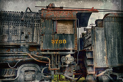 Locomotive (SunnyDazzled) Tags: train railroad decay preservation history locomotive engine hdr retro processing oldfashioned strasburg museum vintage pennsylvania antique 3750
