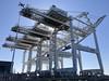 Container Cranes (Melinda Stuart) Tags: cranes container ships shipping transport port oakland sculpture industry portofoakland gantry