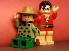 World's Funniest (Red Flannel) Tags: lego plastic man dc quality comics woozy winks minifigure
