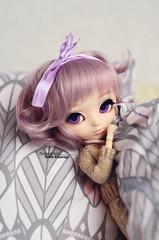 Hii! ^___^ (·Yuffie Kisaragi·) Tags: doll pullip kiyomi oddie rewigged rechipped obitsu