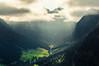 Valley of Wildenbach III (Netsrak) Tags: kleinwalsertal nebel dunst mist fog tal valley wildental at österreich riezlern mittelberg hirschegg wald wiese