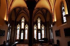 Astorga (León). Palacio Episcopal de Antonio Gaudí. Despacho del obispo (santi abella) Tags: astorga león castillayleón españa palacioepiscopaldeastorga antoniogaudí arquitecturamodernista