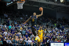 ECU Basketball '18 (R24KBerg Photos) Tags: ecu eastcarolina eastcarolinauniversity eastcarolinapirates ecupirates greenvillenc greenville mingescoliseum williamsarena canon collegesports college athletics americanathleticconference aac pirates 2018 basketball hoops ncaa dunk crowd sports wichitastate shockers