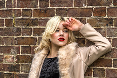 """Urban Beauty (Kev Gregory (General)) Tags: photograph photographing portrait model reenactor tuition instruction ray lowe """"ray lowe"""" """"timeline events"""" timeline events royal gunpowder mills """"royal mills"""" portraiture people kev gregory canon 7d location lighting girl beauty lady woman man women men"""