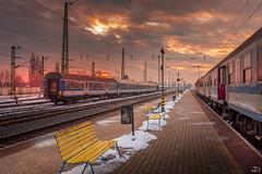DSC_0484 (misa_metz) Tags: nikon nature naturephotography city cityscape rail railway sunset sky clouds colors sigma