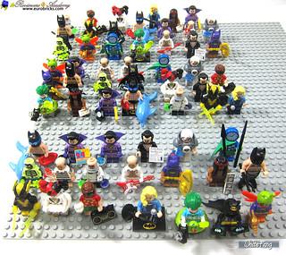 General Statistics for 71020 LEGO Minifigures - The LEGO Batman Movie Series 2