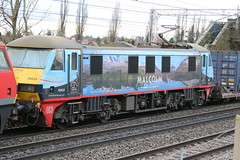 90024 near Crewe Basford Hall Junction (uksean13) Tags: 90024 malcolm dbschenker dbs diesel freight chorltonlane crewe cheshire canon 760d ef28135mmf3556isusm