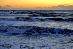 My favourite place (giuliaph.) Tags: sea mare livorno leghorn tuscany lovely loveit nature waves roughsea maremosso italy landscape sunset bestsunset blue blu foam seafoam antignano scalinatadiantignano scalini